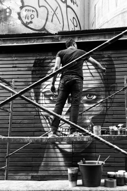 Rilke Roca-Neon Series- mad in- Ex fabrica de Harian- galeria peligro colectivo madin 1.5