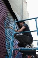 Rilke Roca-Neon Series- mad in- Ex fabrica de Harian- galeria peligro colectivo madin 2